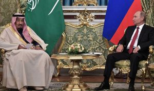 الملك سلمان يبحث مع بوتين تطورات الأوضاع في المنطقة