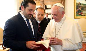 باسيل يطرق أبواب الفاتيكان… والبابا يفتح للحريري