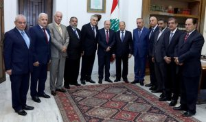 عون يؤكد أهمية تشكيل المجلس الإقتصادي والإجتماعي