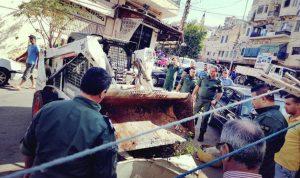 إستكمال حملة إزالة المخالفات والتعديات في طرابلس