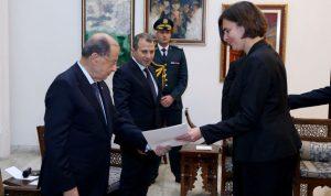 الرئيس عون يتسلم أوراق إعتماد ستة سفراء جدد