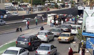 إصابة شخص بجروح في إنقلاب شاحنته في بحنين