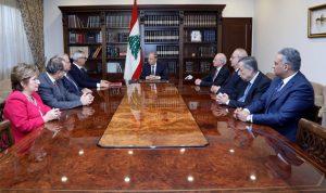 عون: مستمرون بالعمل لتثبيت الثقة بين مؤسسات الدولة والوطن