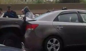 بالفيديو… حادث سير لا ترونه كل يوم!
