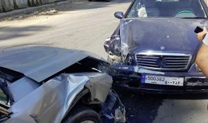 جريحان بحادث سير في سير الضنية