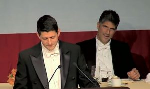 """بالفيديو… انطون صحناوي في عشاء مؤسسة """"الفريد سميث"""" في نيويورك"""