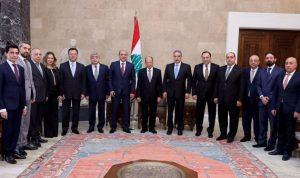 عون: دور بارز للبنانيين الارمن في تعزيز العلاقات بين البلدين