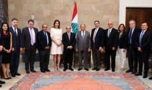عون: انتشار اللبنانيين وتفوقهم يجعلان العالم حدوداً للبنان
