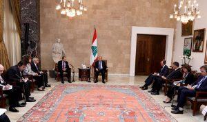 عون يحذّر من انفجار أزمة النازحين