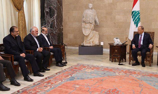 عون: لتعزيز العلاقات مع ايران