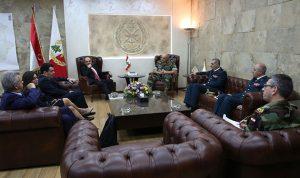 قائد الجيش بحث وفوكايدس التعاون مع الجيش القبرصي