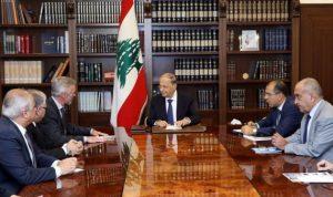 عون: عودة النازحين خطوة أساسية للحد من التداعيات على لبنان