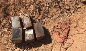 بالصور والفيديو… تفجير عبوات ناسفة من مخلفات الارهابيين
