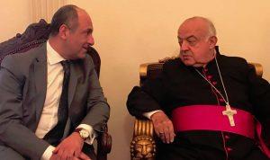 بو عاصي زار بو جوده في طرابلس مع وفد قواتي