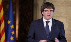 زعيم إقليم كتالونيا يدعو البرلمان إلى تحرك ضد مدريد