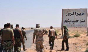 اشتباكات عنيفة في بين داعش والنظام في دير الزور