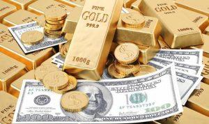 ارتفاع الدولار يؤدّي إلى هبوط الذهب