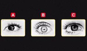 إختبار للشخصية: أي عين برأيكِ تعود للشخص الغاضب؟