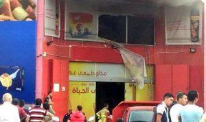بالفيديو… إندلاع حريق داخل مبنى سوبر ماركت فهد في فرن الشباك