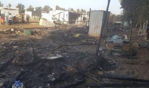 النار تلتهم خيماً للاجئين السوريين في عكار… والعائلات في العراء (بالصور)