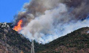 إجلاء بحري للسكان في إيطاليا بسبب الحرائق
