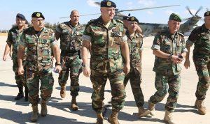 قائد الجيش: الاستقرار الأمني بات محصنا وأي اخلال سيواجه بحسم