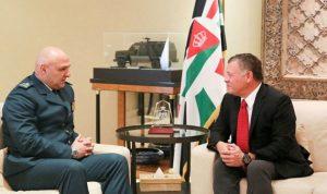 قائد الجيش التقى في الاردن الملك عبدالله وبحث في تعاون الجيشين