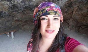 لبنانية تطرد من مهرجان روسي بعد إنزالها علم إسرائيل