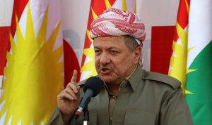 برزاني في خطاب التنحي: لم يقف أحد مع الأكراد