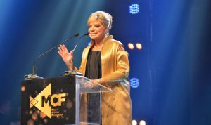 مي شدياق في حفل توزيع جوائزMCF Media Awards : سنكمل مسارنا نحو الحرية