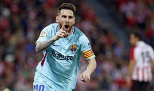 """ميسي يتألّق في انتصار """"غير مقنع"""" لبرشلونة على بيلباو"""