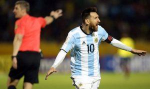 ميسي يعيد الأرجنتين إلى كأس العالم… ويرد التحية إلى بوتين