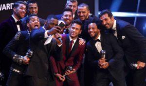 أفضل لاعب في العالم… لمن صوت ميسي ورونالدو ونيمار؟