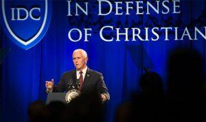 """""""مؤتمر الدفاع عن المسيحيين"""" مستمر… دعوة لدعم لبنان وجيشه وإعادة النازحين"""