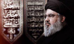 نصرالله: عون من آل البيت وولاية الفقيه فوق الدستور اللبناني!