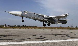تحطم مقاتلة روسية بسوريا ومقتل طاقمها