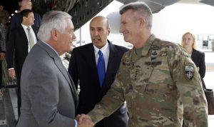 تيلرسون من كابل: سنواصل القتال ضد طالبان