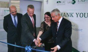السفارة الاميركية افتتحت مختبرًا لعلم الامراض