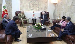 سفير لبنان لدى واشنطن في اليرزة