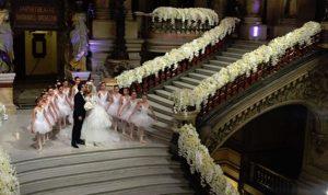 بالصور والفيديو… حفل زفاف أسطوري لحفيدة خدام في باريس