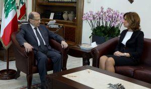 عون إستقبل سفراء لبنانيين قبل إلتحاقهم بالسفارات المعينين فيها