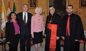 الراعي إلتقى سفيرة أميركية: لتحييد لبنان عن الصراعات