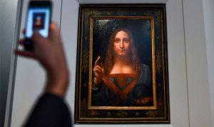"""مجهول يشتري """"اللوحة الضائعة"""" لدافينشي بمبلغ خيالي"""