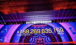 مبيعات قياسية ب25 مليار دولار بـ24 ساعة لموقع علي بابا