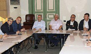 قمر الدين ناقش والحراك المدني مشكلة النفايات في طرابلس