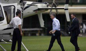 هبوط اضطراري لطائرة رئيس الأرجنتين