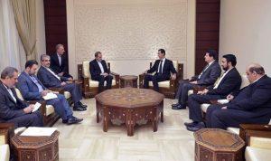 الأسد وولايتي: التصعيد ضد إيران لا يمكن فصله عن تقهقر الإرهاب