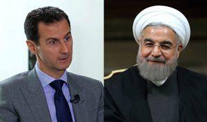 هذا ما أبلغه روحاني للأسد في إتصال هاتفي