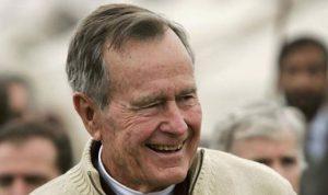 بوش الأب يسجّل سابقة في تاريخ أميركا