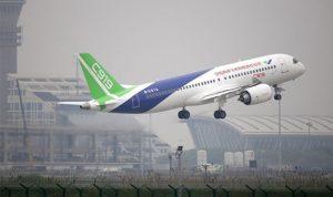 """الطائرة الصينية """"سي919"""" تكمل ثالث طلعة تجريبية"""